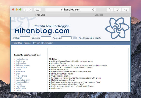 Acquisition of Mihanblog